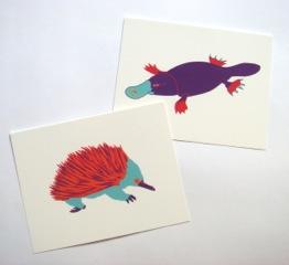 Iconic Animals Boxed Stationery Set