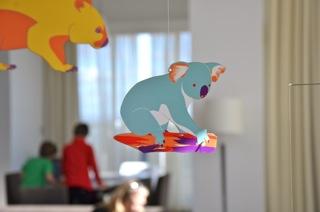 Iconic Australian Animals Hanging Mobile