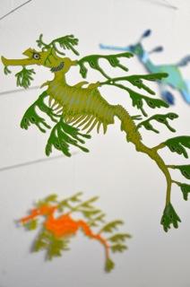 Australian Seadragons Hanging Mobile