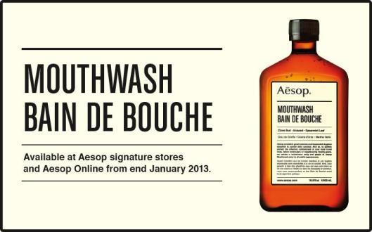 Aesop Bain de Bouche/Mouthwash(Image from Aesop.com)