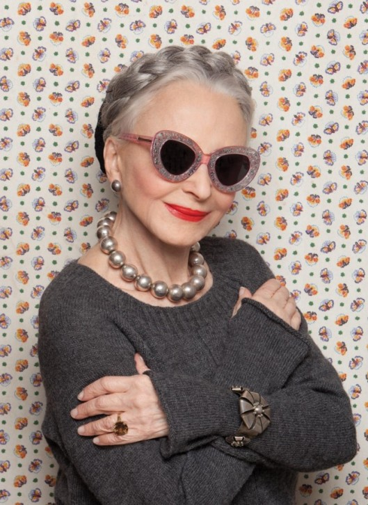 Karen Walker/Advanced Style Collaboration(All images from Advanced Style)