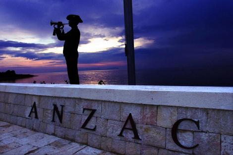 ANZAC Cove, Gallipoli (Image from here)