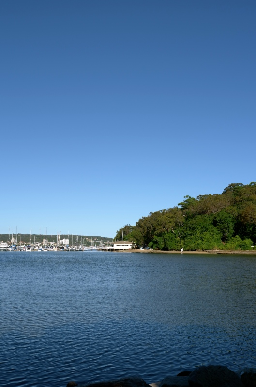 View From North Harbour Reserve (Image by TSL)