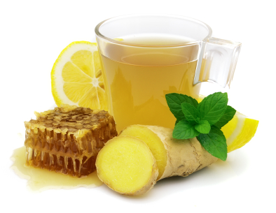 Ginger lemon honey tea (Image from here)