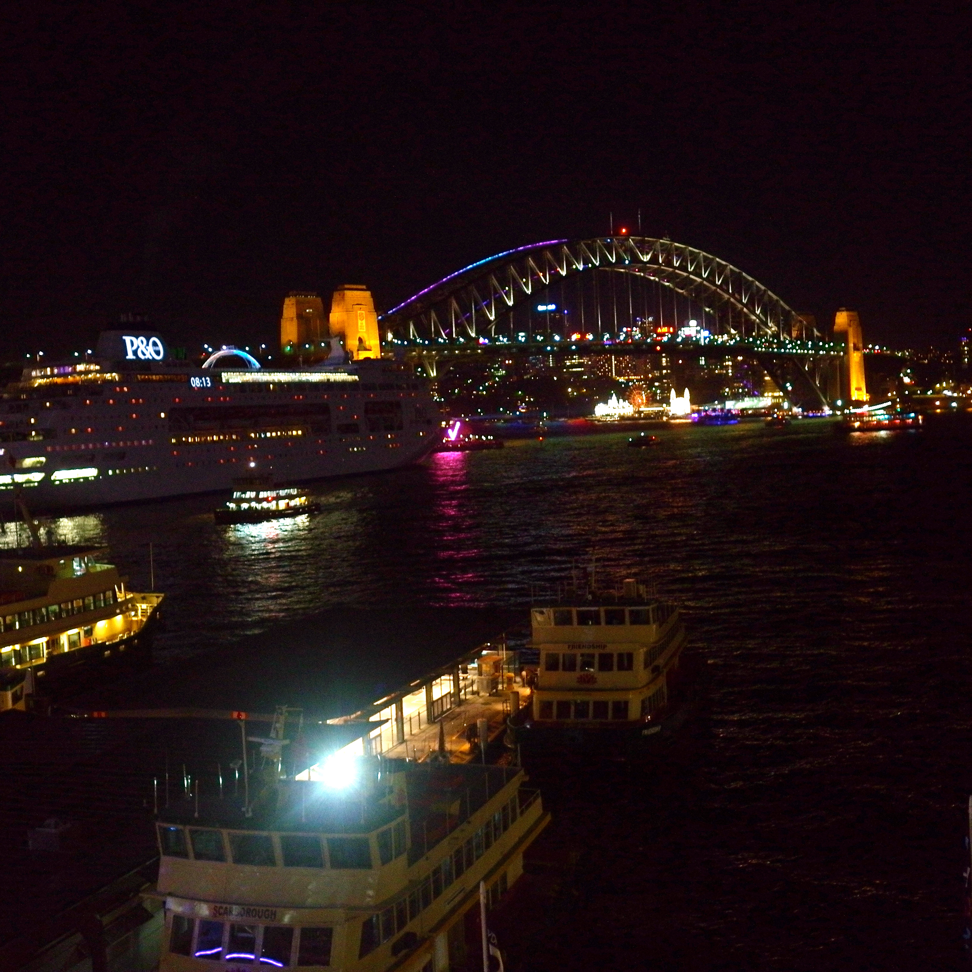 Circular Quay from the Cahill Expressway