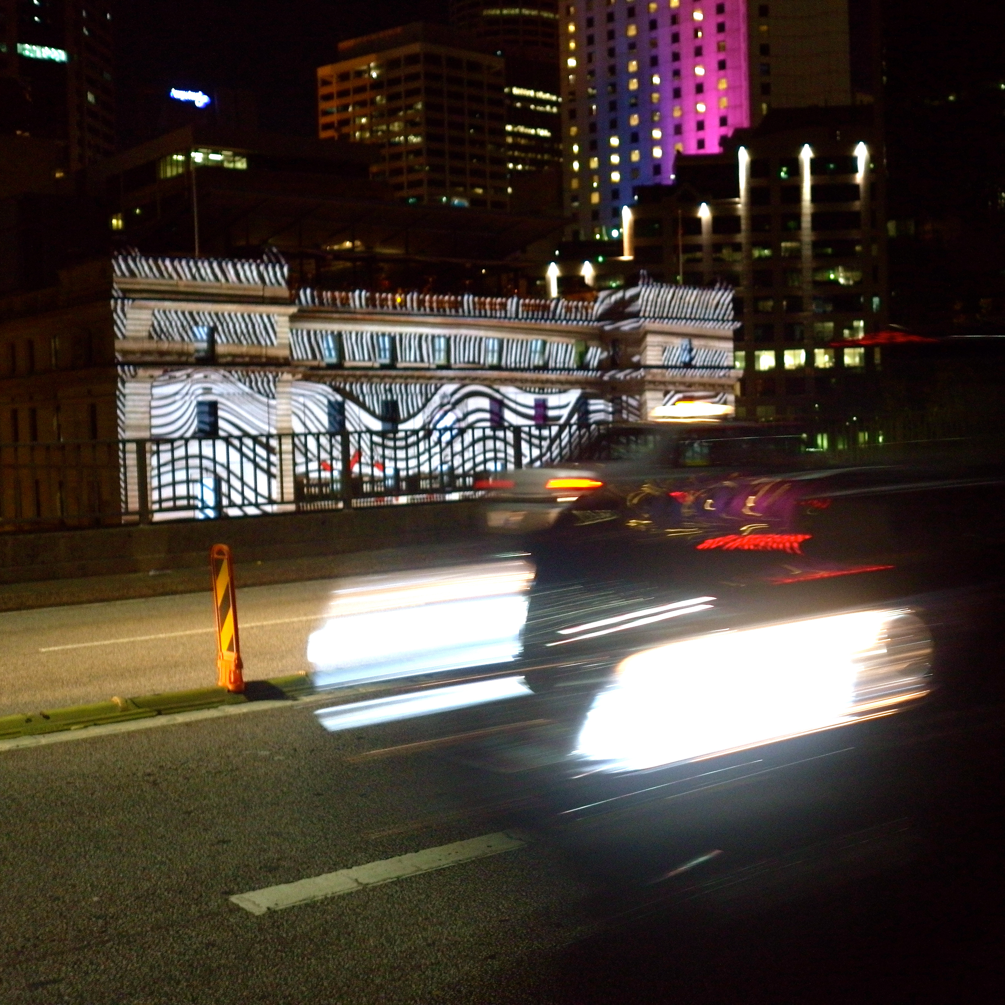 The Custom House from the Cahill Expressway