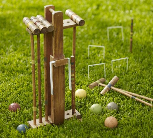 Croquet Set for Pottery Barn