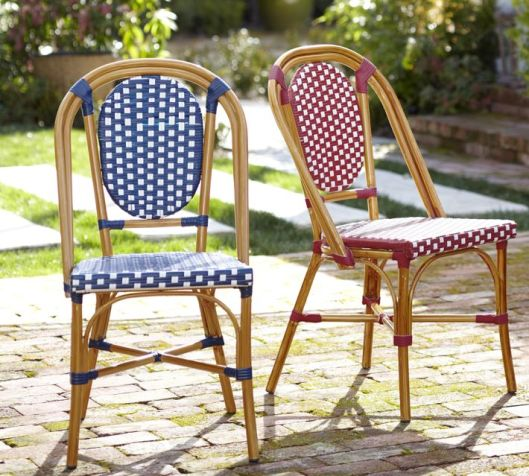 French Cafe Side Chair for Pottery Barn