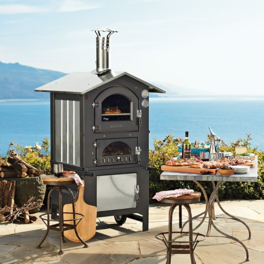 Fontana Gusto Wood-Fired Outdoor Oven for Williams Sonoma