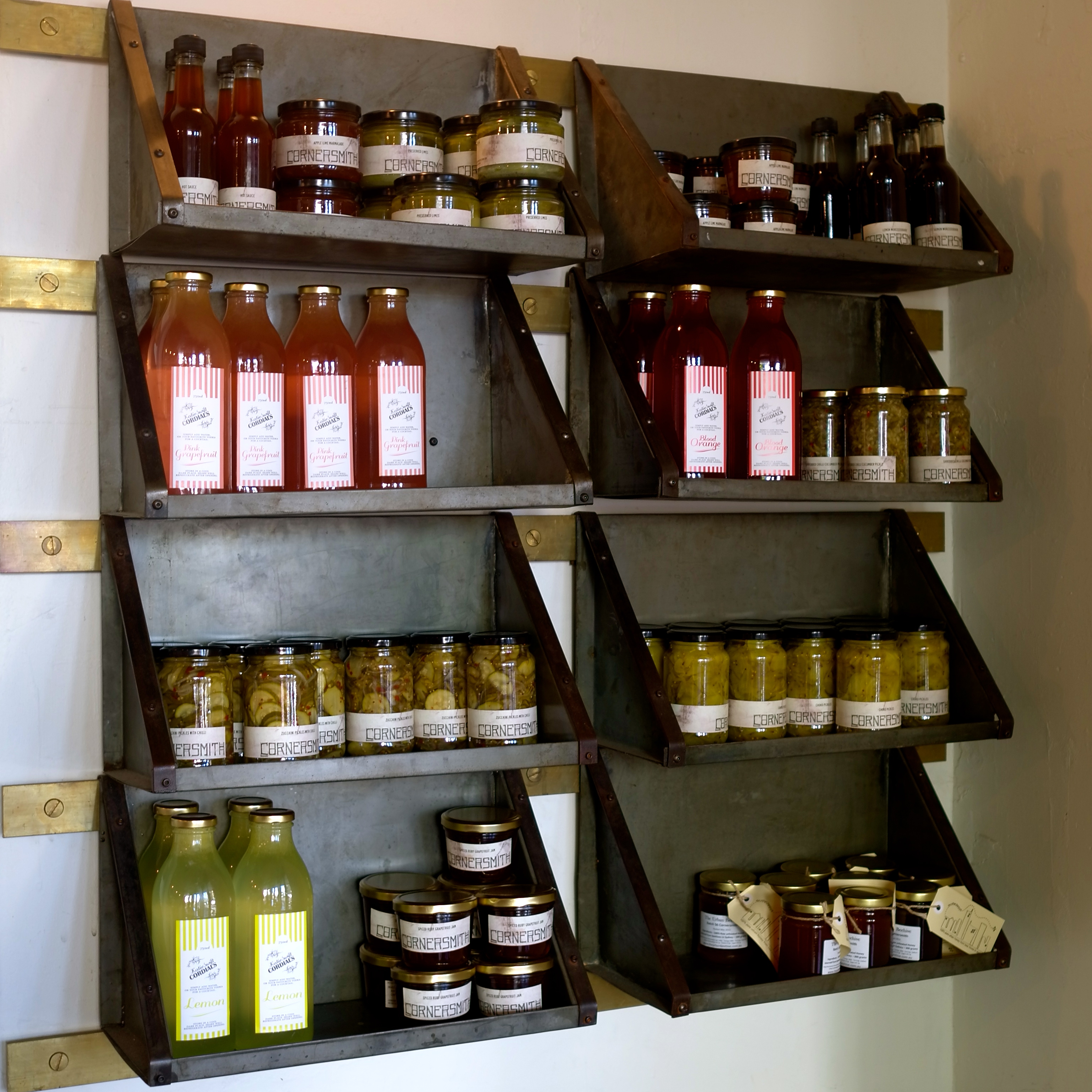 Cornersmith Pickles and Preserves (Image by TSL)