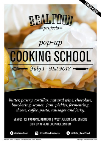 Real Food Projects - Cooking School