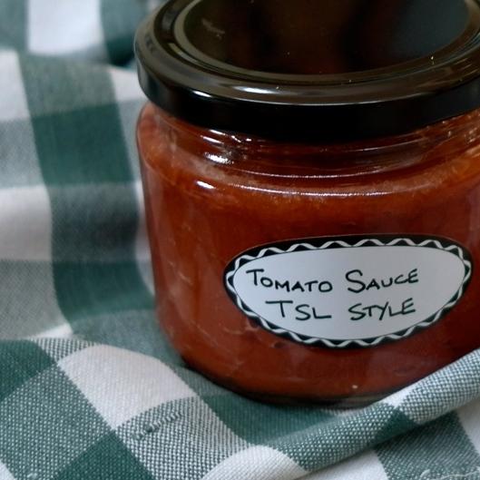 TSL's Tomato Sauce  (Image by TSL)