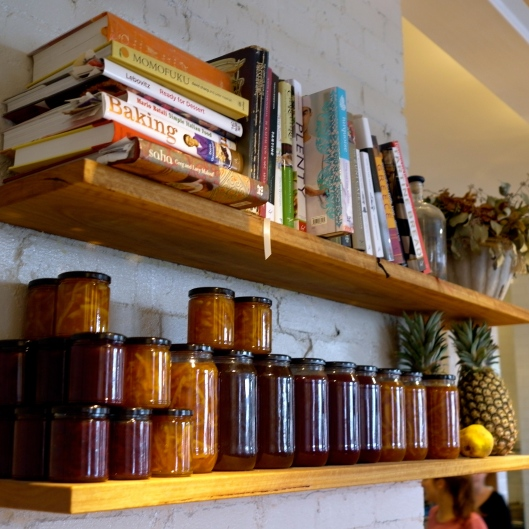 Homemade preserves at West Juliett (Image by TSL)