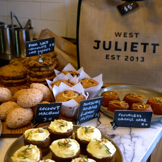 Some of the Sweet Options at West Juliett (Image by TSL)