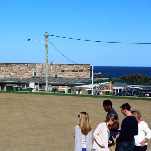 Clovelly Bowling Club - the world's best lawn bowls site? (Image by LM for TSL)