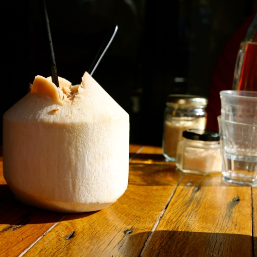Fresh Coconut Water (Image by LM for TSL)