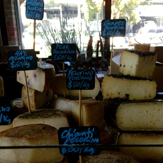 Some of the Cheese on Offer at the Bar  (Image by TSL)