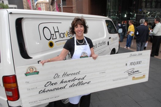 Ronni, OzHarvest Founder (Image from OzHarvest)