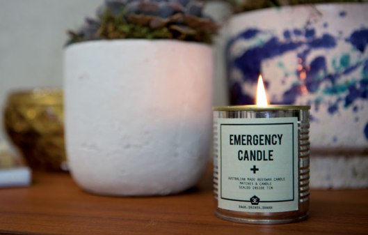 Page Thirty Three Emergency Candle (Images from Page Thirty Three)
