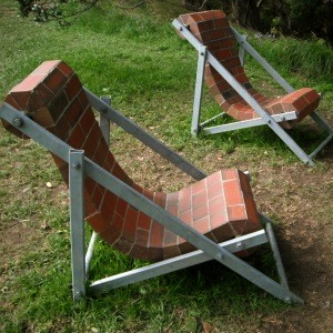 Peter Lange's Deckchairs (Image from Masterworks Gallery)