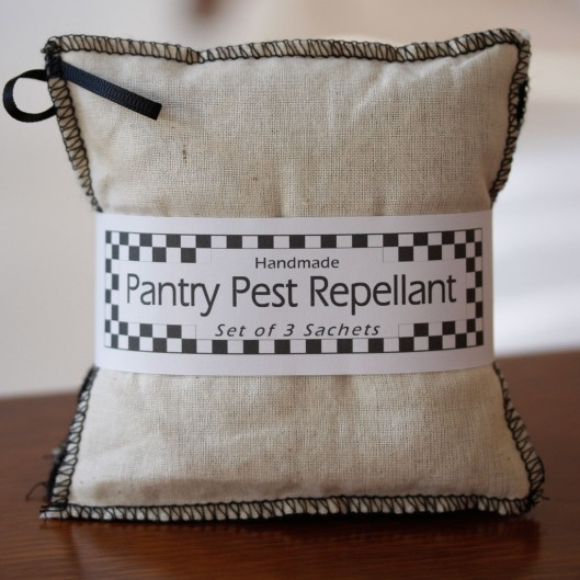 Herbal pantry pest repellant packs