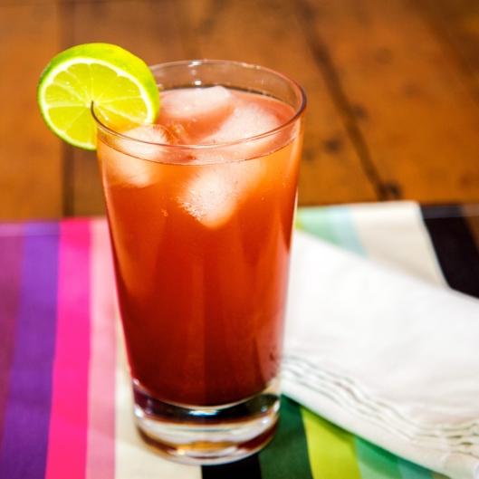 Rhubarb, Strawberry & Blood Orange Syrup TSL - Style