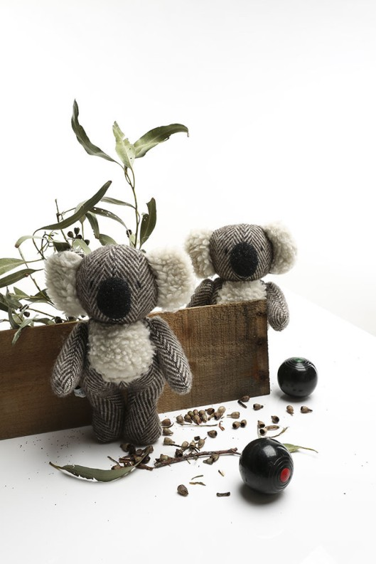 Clem the Herringbone Koala