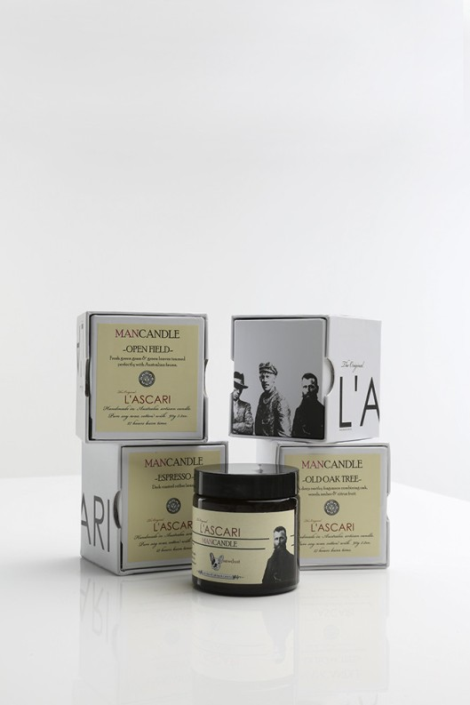 L'ascari Man Candle