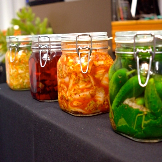 Sandor Katz Fermented vegetables