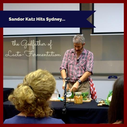 Sandor Katz Hits Sydney