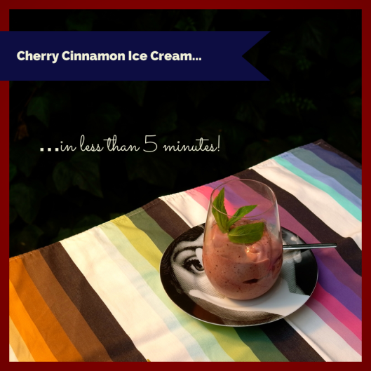 Cherry Cinnamon Ice Cream