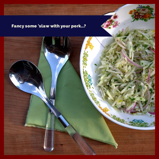 Apple and Fennel Slaw