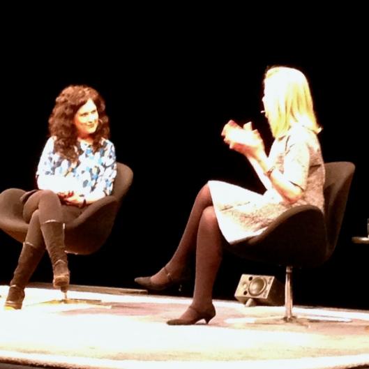 Annabel Crabb interviews Arianna Huffington