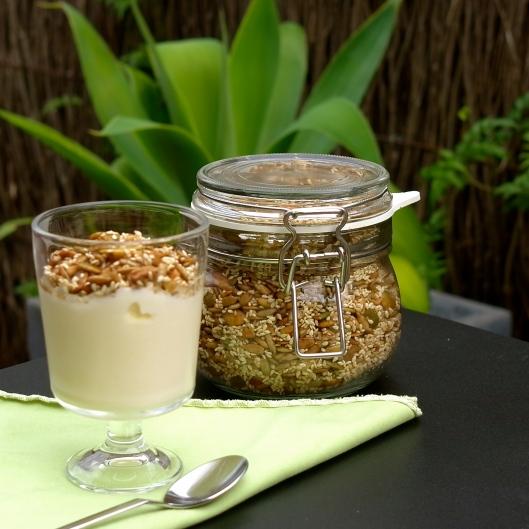 Nut Free Granola Crunch