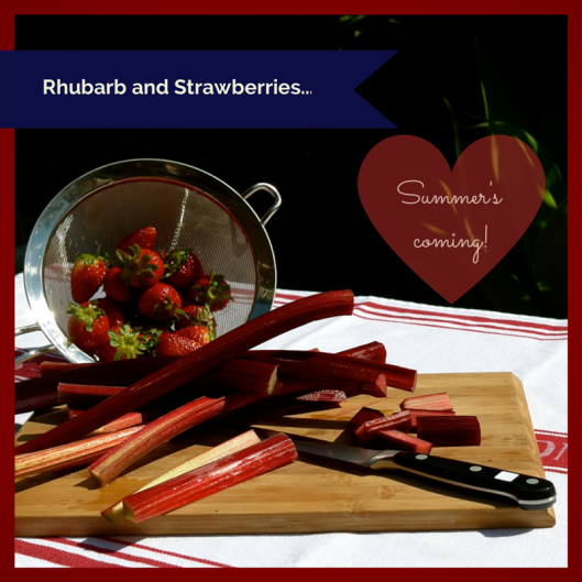 TSL Rhubarb abd Strawberry Compote