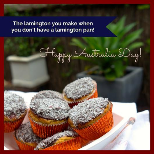 TSL Lamington Cupcake