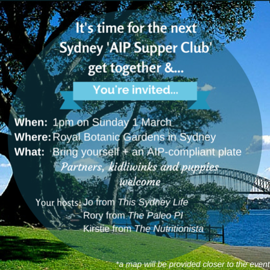 AIP Picnic Invitation