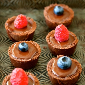 Fudgy Chocolate Tarts