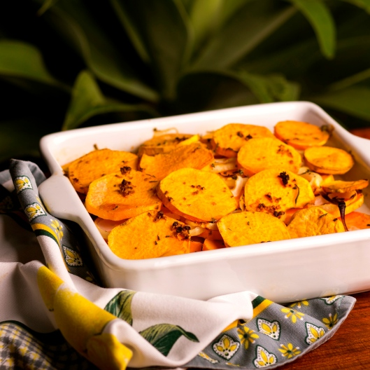 HWKIP Scalloped Sweet Potatoes